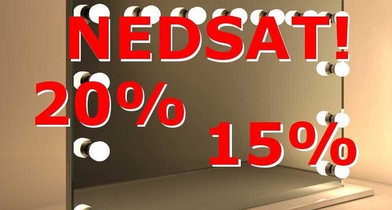 Tilbud på spejle! Nedsat 10-30%