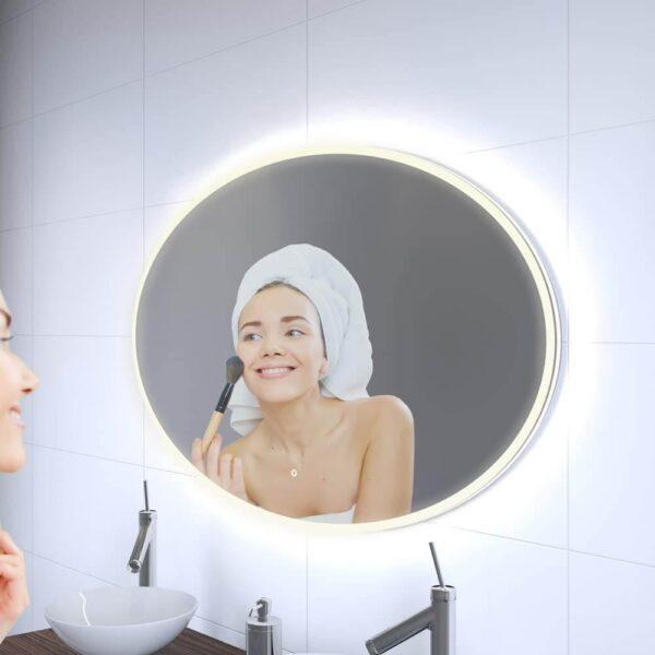Ovalt spejl 120x70cm