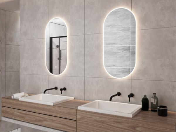 Smukke badeværelsesspejle